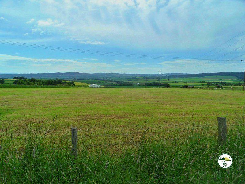 Über Die Felder Von Hergarten