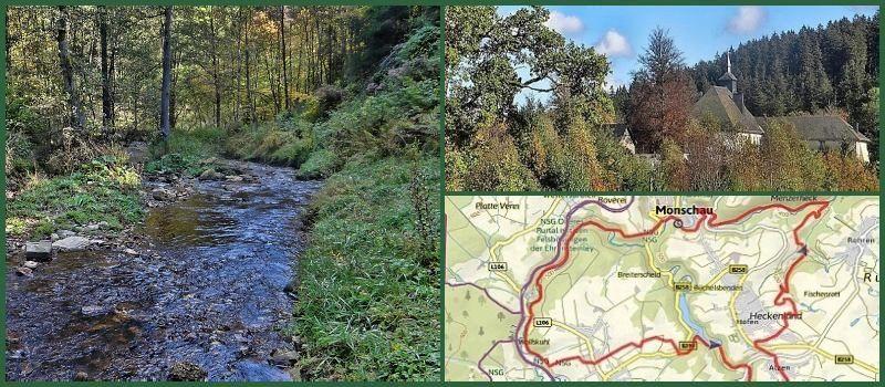 Bäche, Seen, Wälder im Monschauer Land