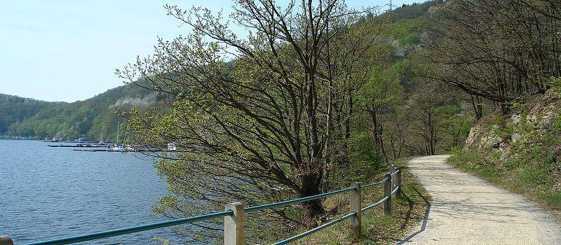 Rursee-Route – Um den Rursee