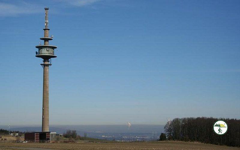 Blick Auf Funkturm Ins Rurtal