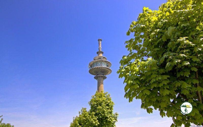Funkturm In Großhau
