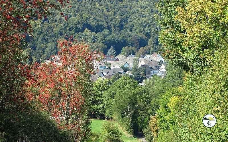 Panoramablick Schleiden