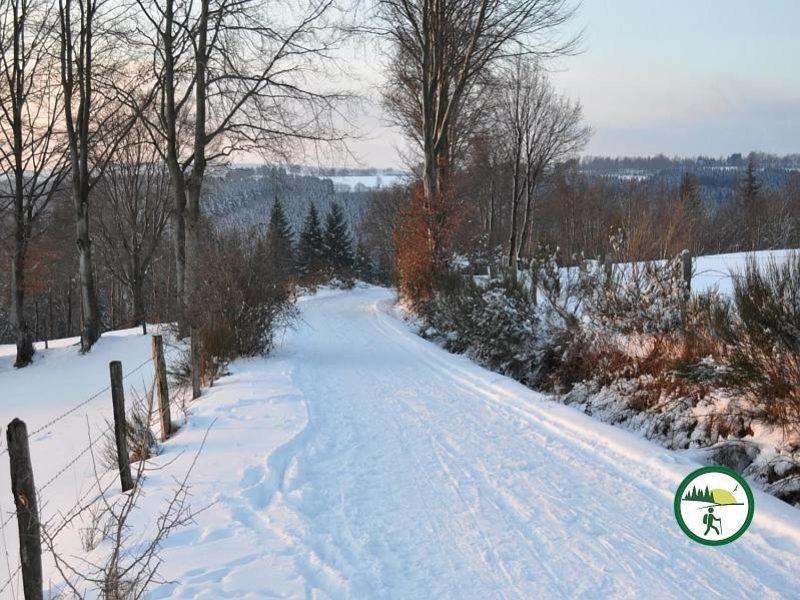 Winterlandschaft Bei Rohren