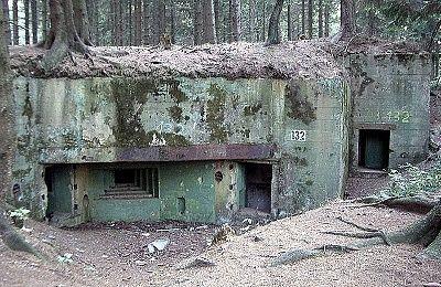Zu den Bunkern im Buhlert