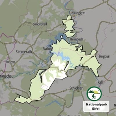 Nationalpark Eifel Karte.Nationalpark Eifel Der Eifelyeti De