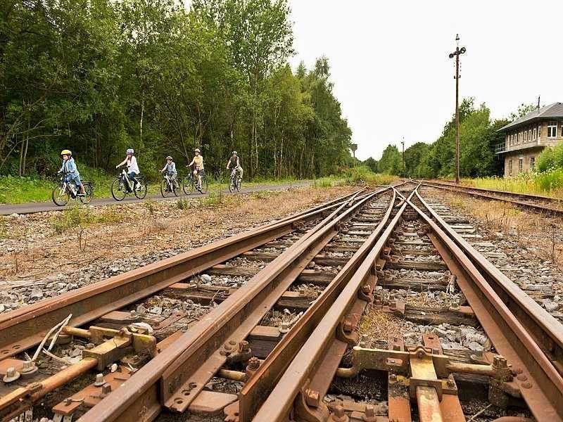 Bahnhof In Raeren