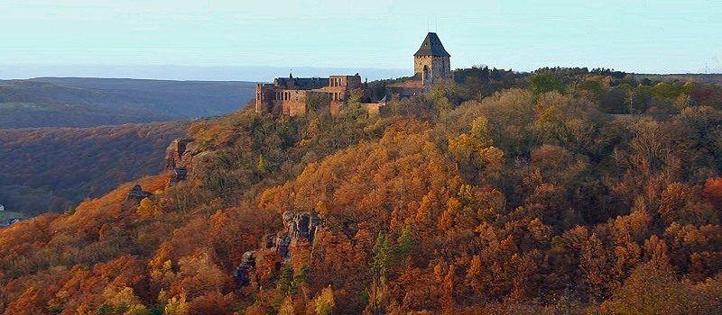 Um die Burg Nideggen