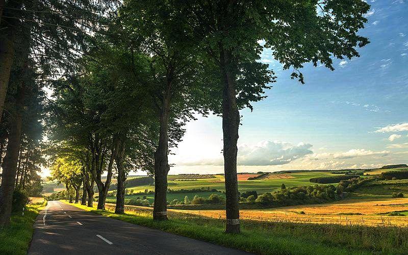 Richtung Troisvierges