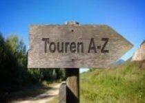 Meine Touren A -Z